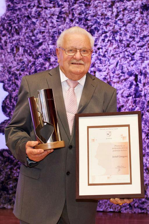 Ponosni prejemnik priznanja za življenjsko delo na področju kulture v občini za leto 2017