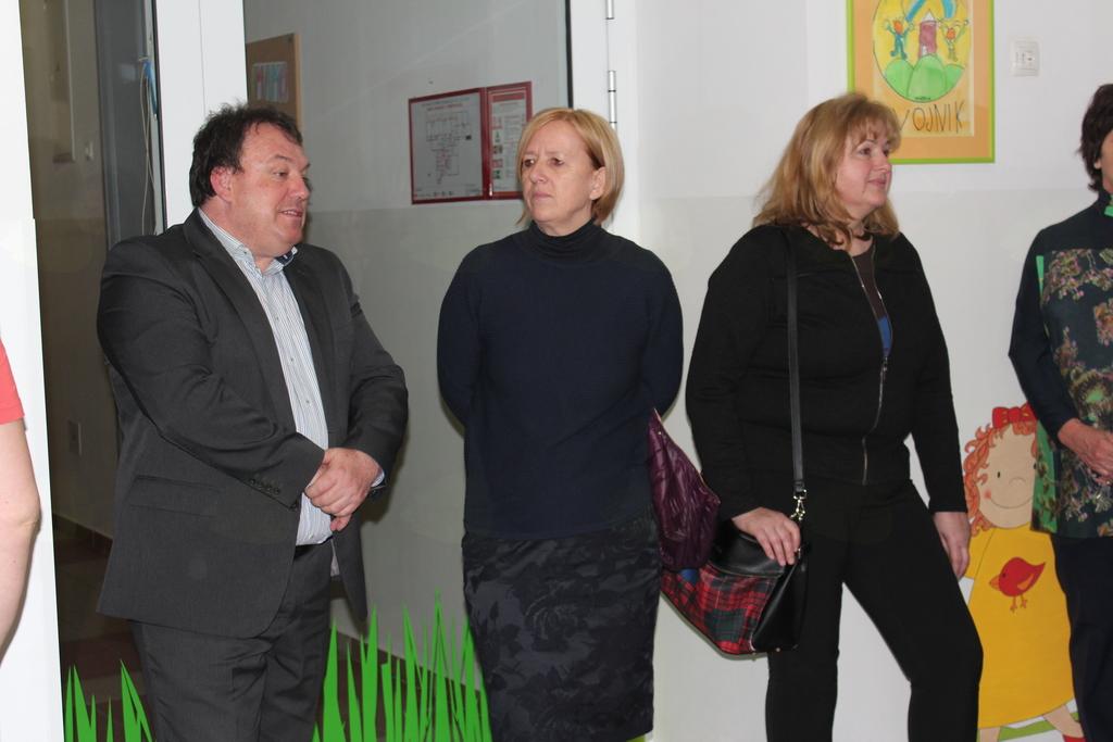 Branko Petre, Olga Kovač in Mojca Skale