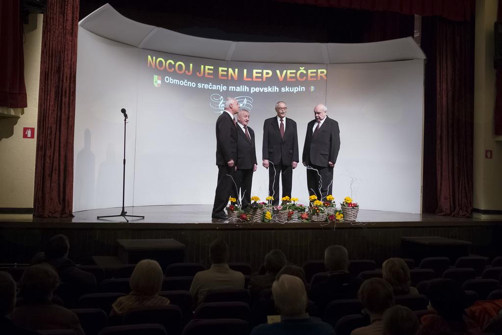 Kvartet Grmada Celje (foto: Tomaž Černej)