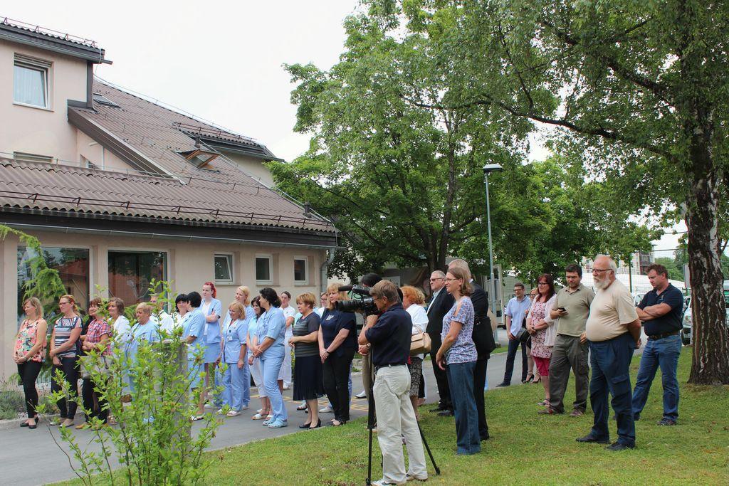 Na otvoritvi prenovljenih prostorov Zdravstvene postaje Vojnik