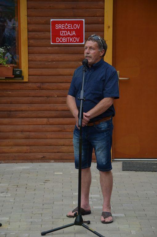 Podpredsednik zbora za skoke in nordijsko kombinacijo pri SZS gospod Jože Ograjenšek