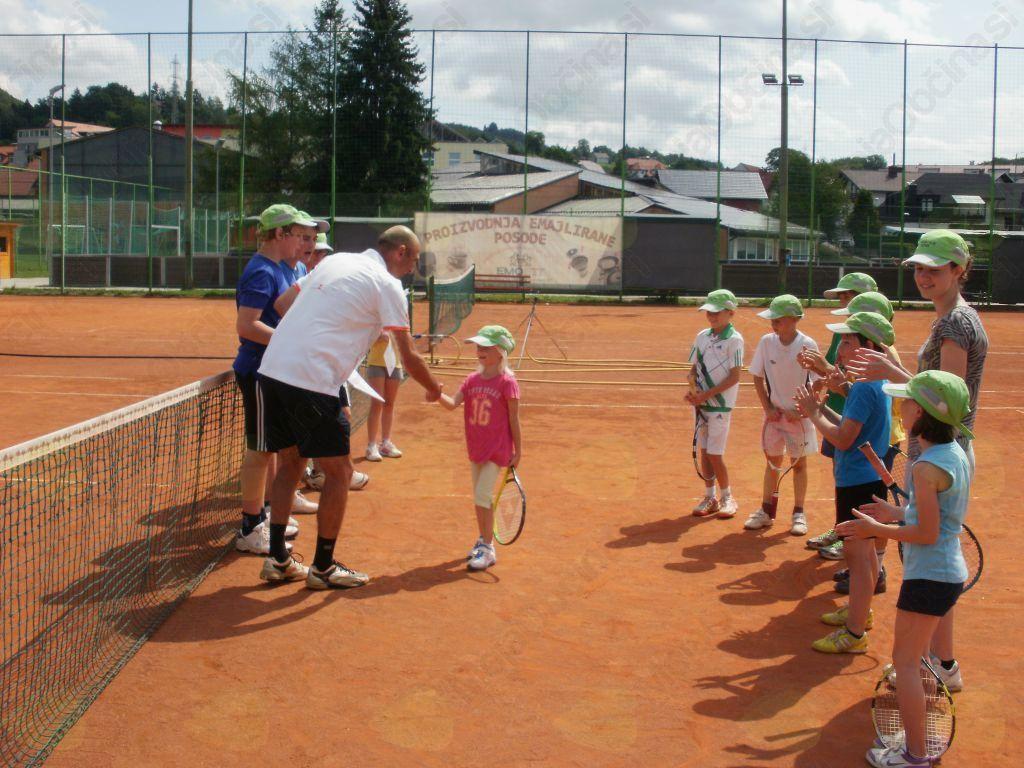 Tenis za otroke: še prosti termini v avgustu