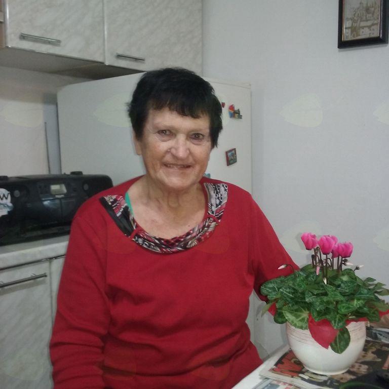 80 let gospe Hilde Amon
