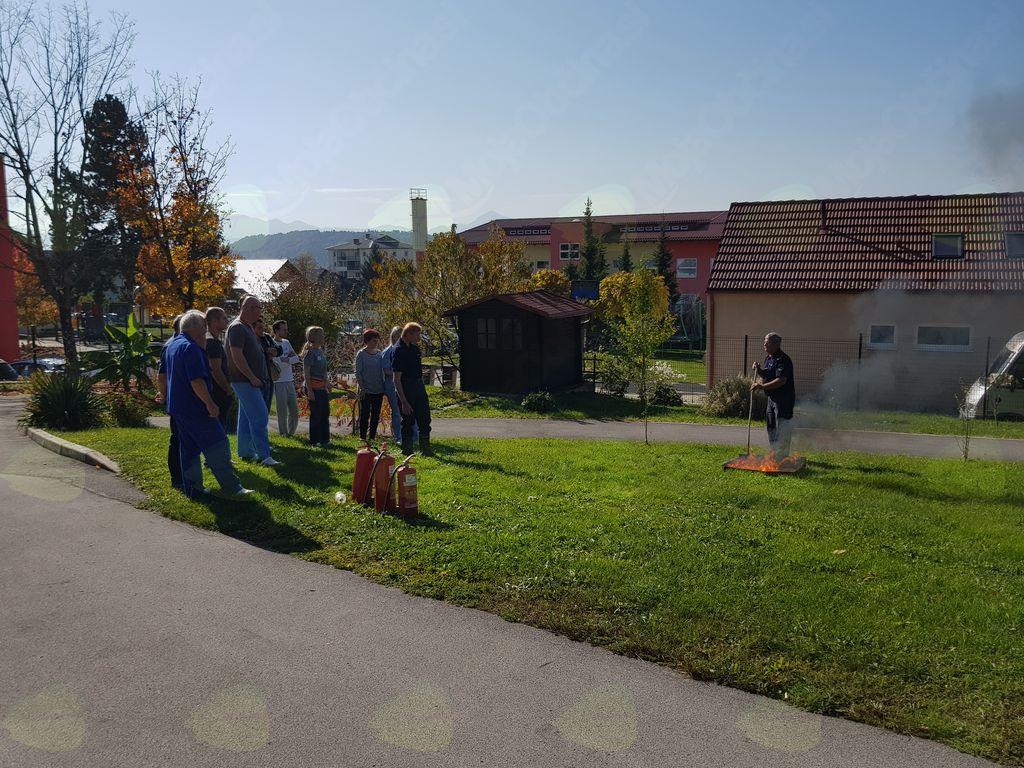 Mesec požarne varnosti v Špesovem domu
