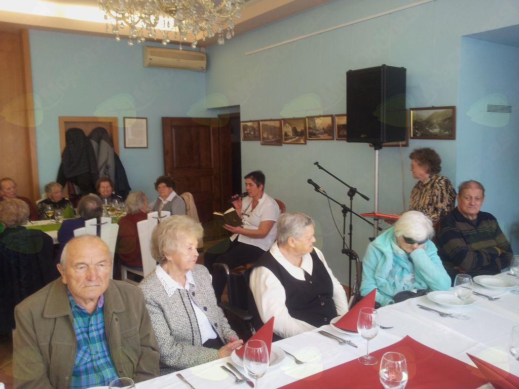 Srečanje s starejšimi člani DU Vojnik