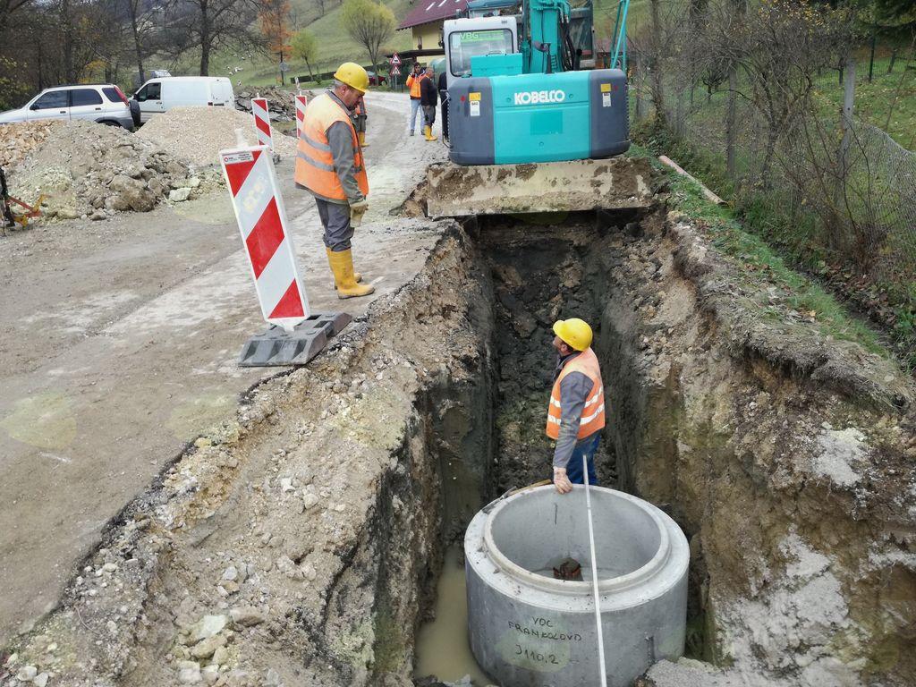Izgradnja kanalizacije Frankolovo III. faza (foto: Dušan Horvat)