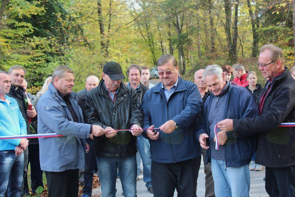 Odprtje ceste Straža pri Novi Cerkvi – meja KS Frankolovo