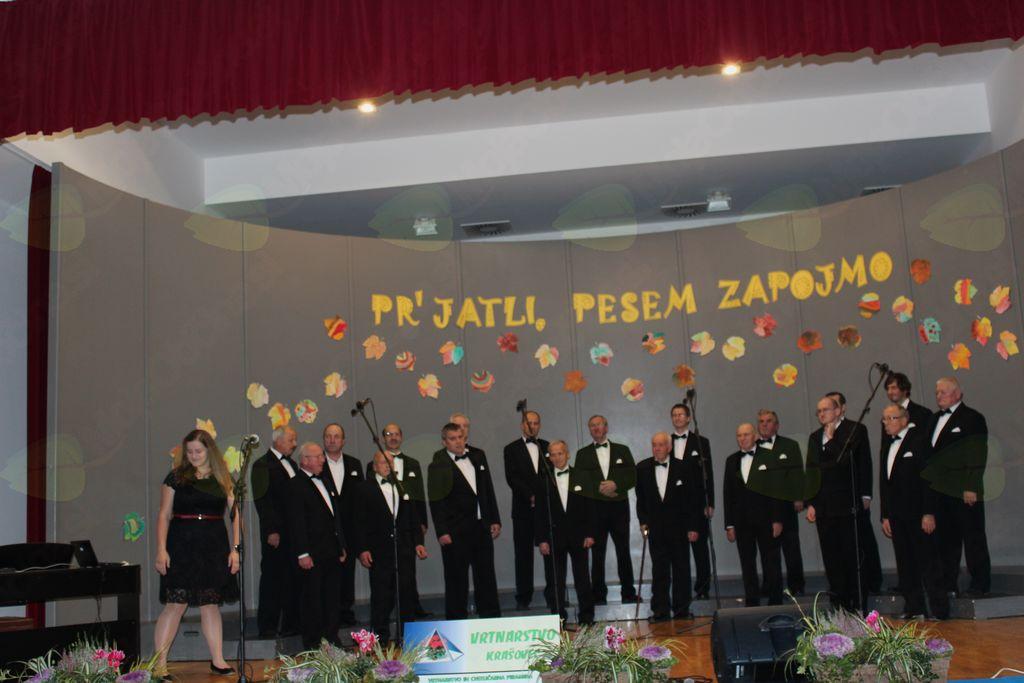 Moški pevski  zbor KUD Nova Cerkev