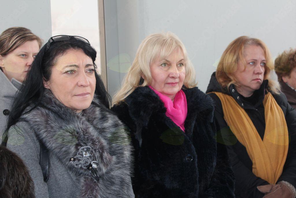 Vesna Poteko, Zvezdana Stankovič, ki je vodila nadzor  in Renata Vežnaver, projektantka.