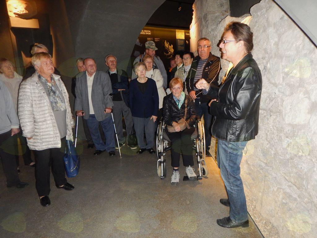 Učna ura o zgodovini Celja za težje invalide