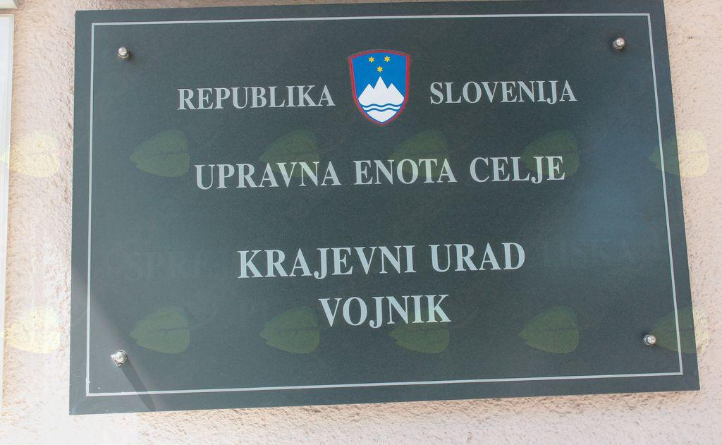 Zaprtje pisarne Upravne enote Celje v Vojniku in na Dobrni