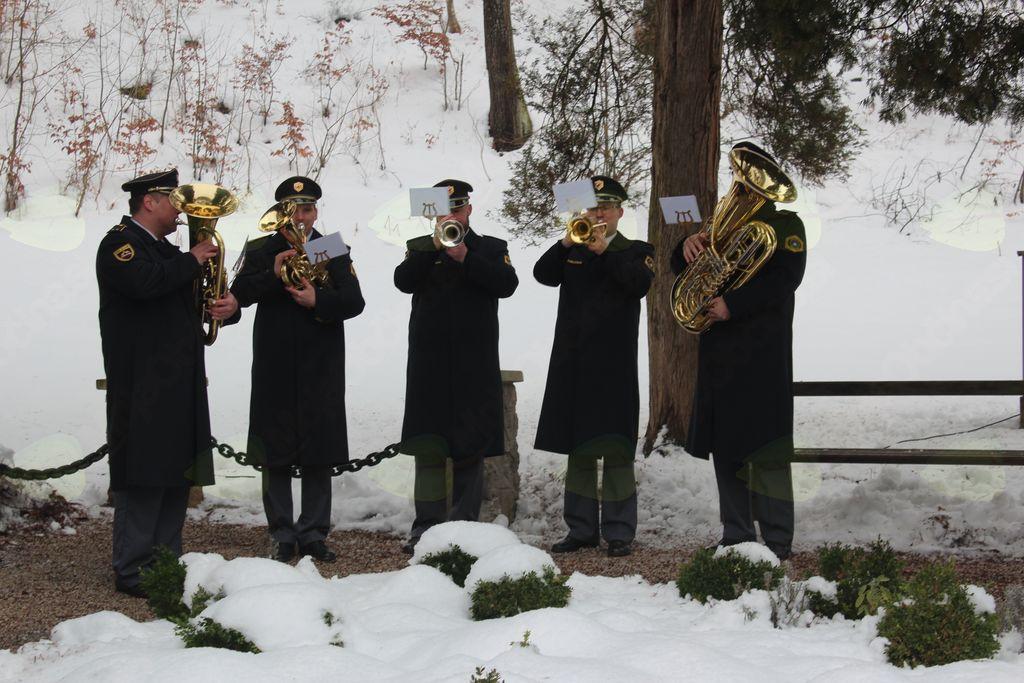 Kvartet trobil Orkestra slovenske policije