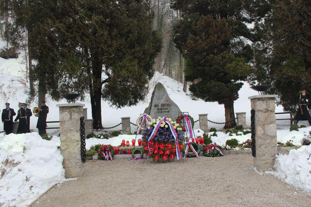 Spominska slovesnost ob 73-letnici zločina na Frankolovem