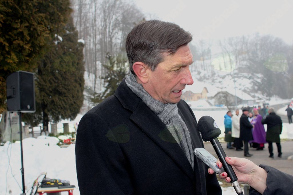 Predsednik RS Borut Pahor