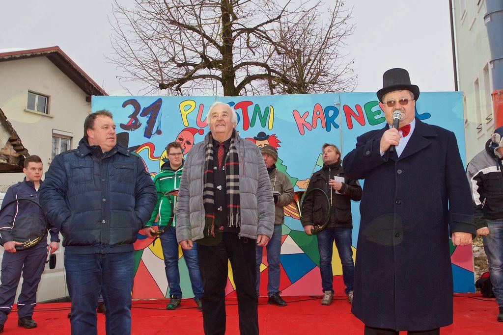 Župan Branko Petre s podžupanom Viktorjem Štokojnikom in Slavkom Jezernikom