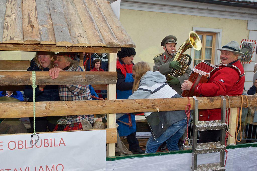 Občinska drvarnica v izvedbi članov Planinskega društva Vojnik