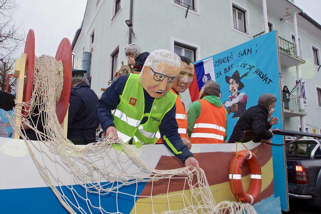 Mejo v Piranskem zalivu so določali v Prostovoljnem gasilskem društvu Dobrna.