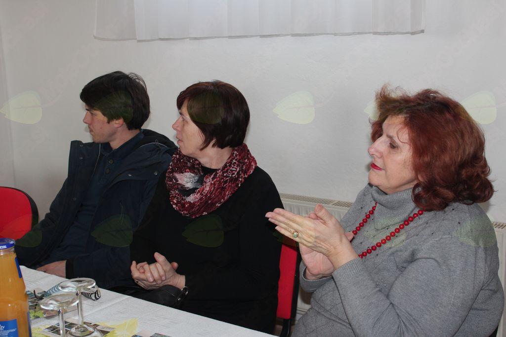 Milena Ravnak, Sabina Majcen in Aljaž Majcen