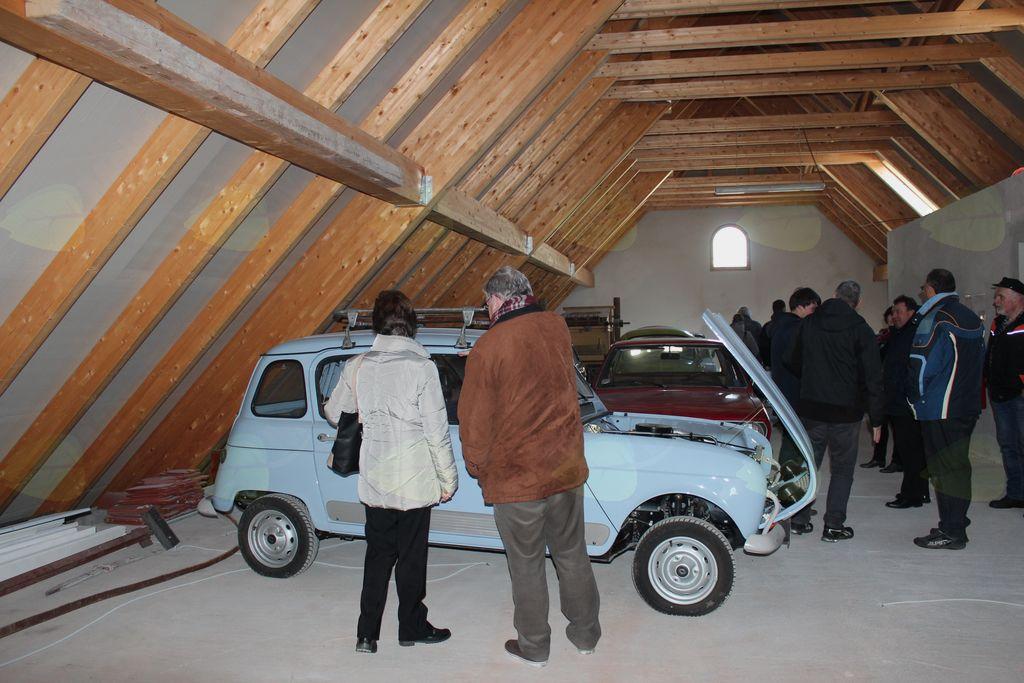 Prostori pod streho bodo namenjeni muzeju, prvi ekspomati so že tam.