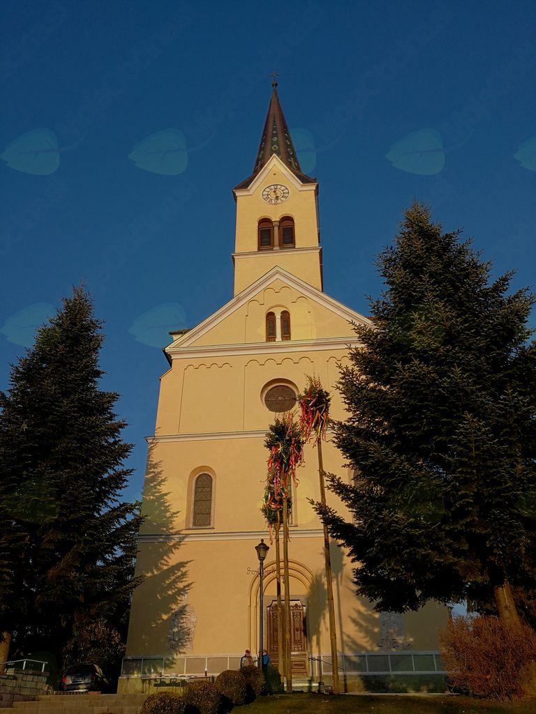 Pogled na cerkev sv. Jerneja v Vojniku