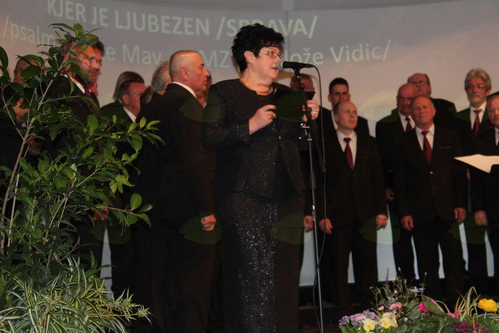 MPZ KUD France Prešeren Vojnik na letnem koncertu