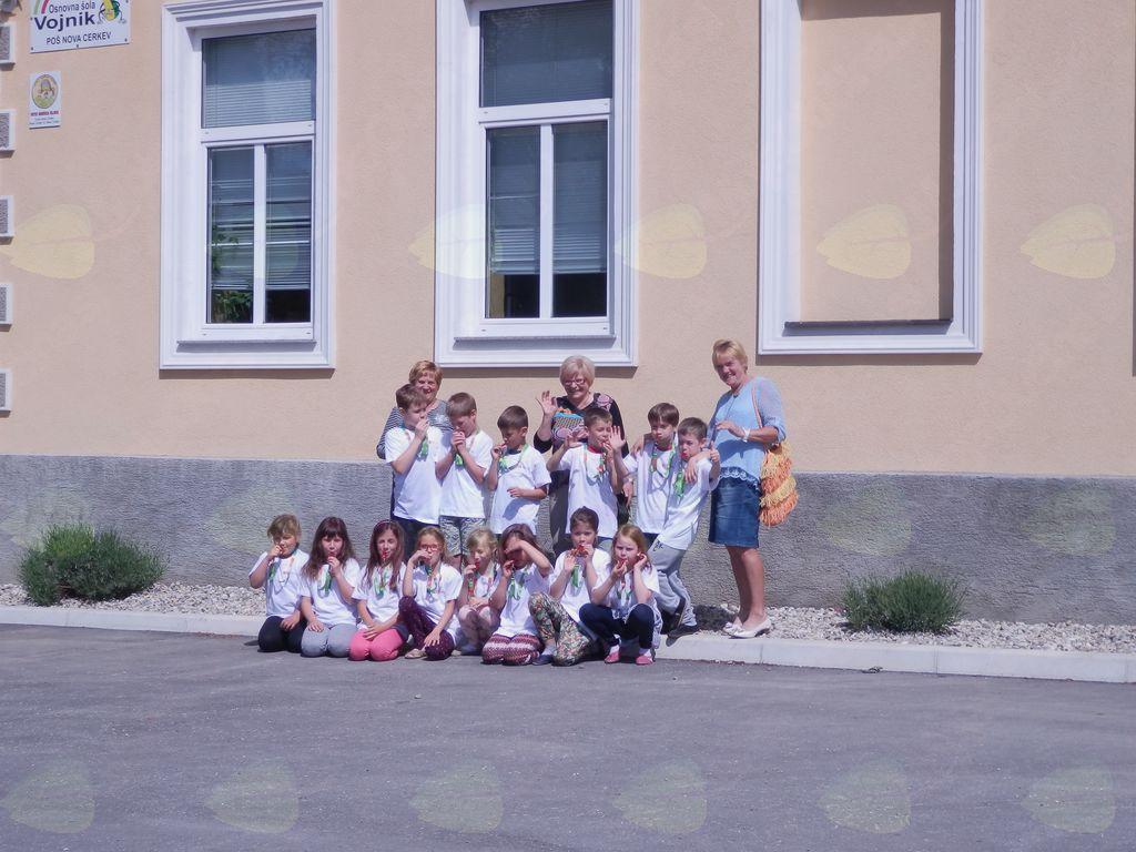 Prijetno druženje z drugošolci