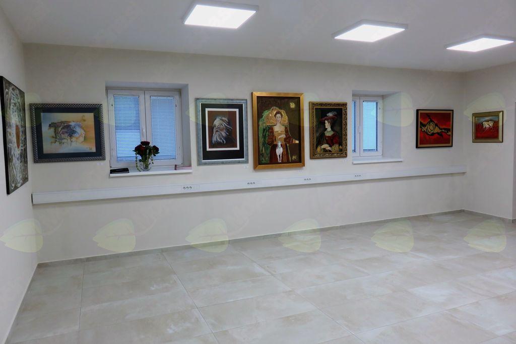 Likovna razstava Ksenije Ferenc v spomin na akademika dr. Josipa Kotnika