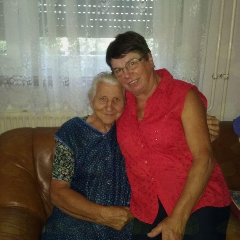 Na obisku pri Mariji Kamenik iz Vizor