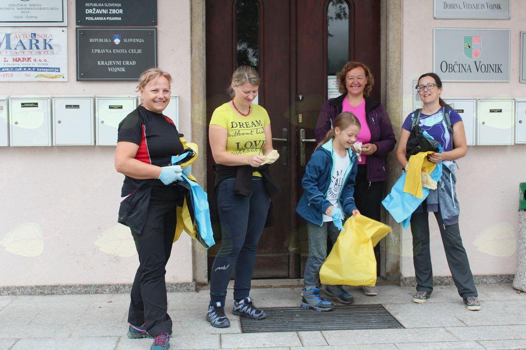 Očistimo Slovenijo 2018 v občini Vojnik