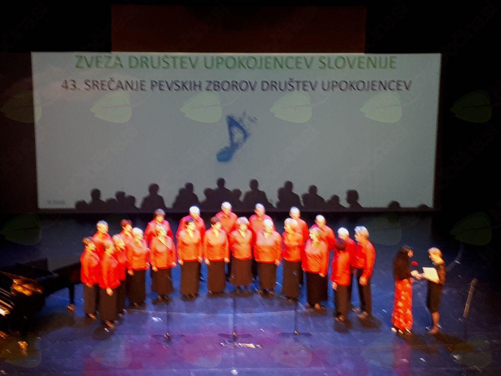 Pevci MeKPZ DU Vojnik uspešno nastopili na F3ŽO v Cankarjevem domu