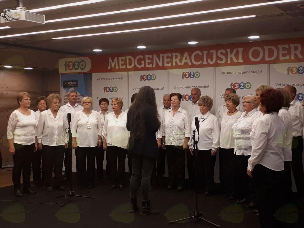 Zbor med nastopom na F3ŽO v Ljubljani