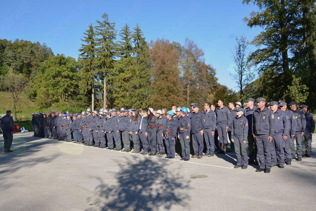 Tekmovanje gasilskih enot GZ Vojnik-Dobrna