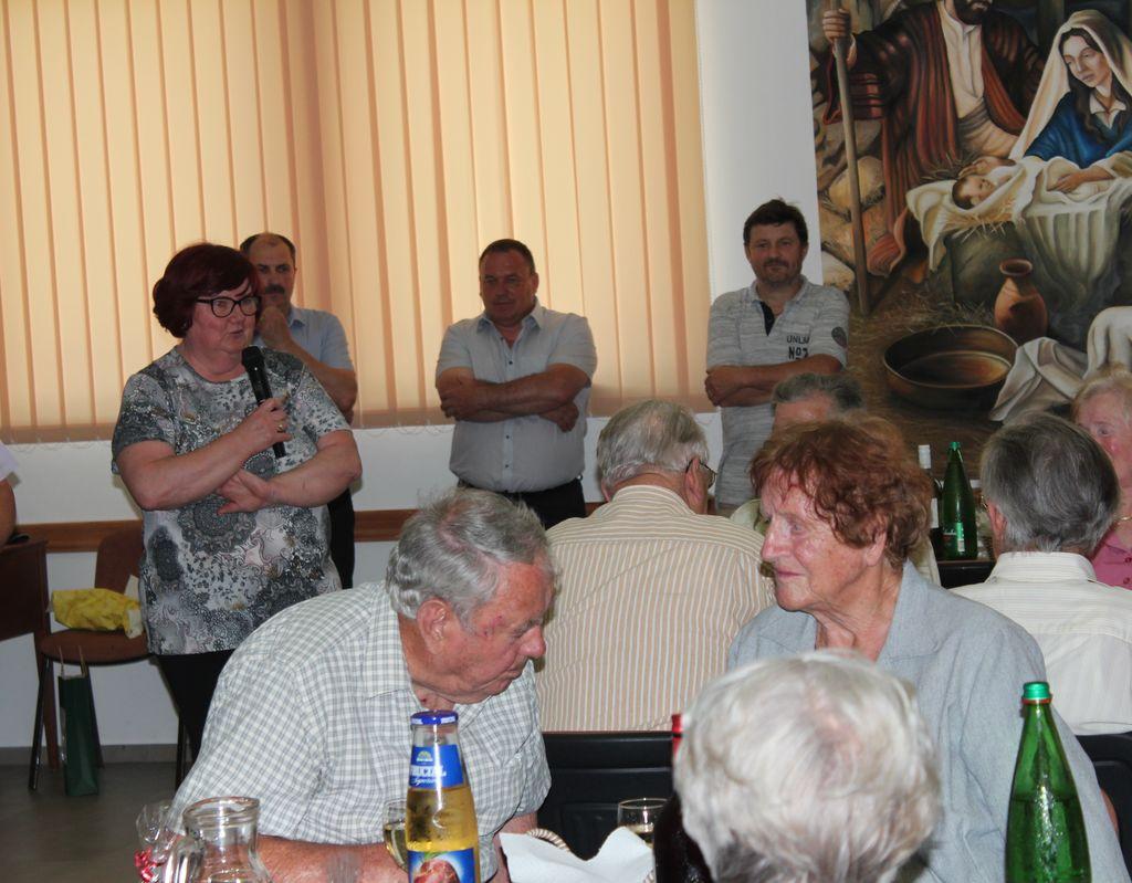Druženje starejših ob krajevnem prazniku