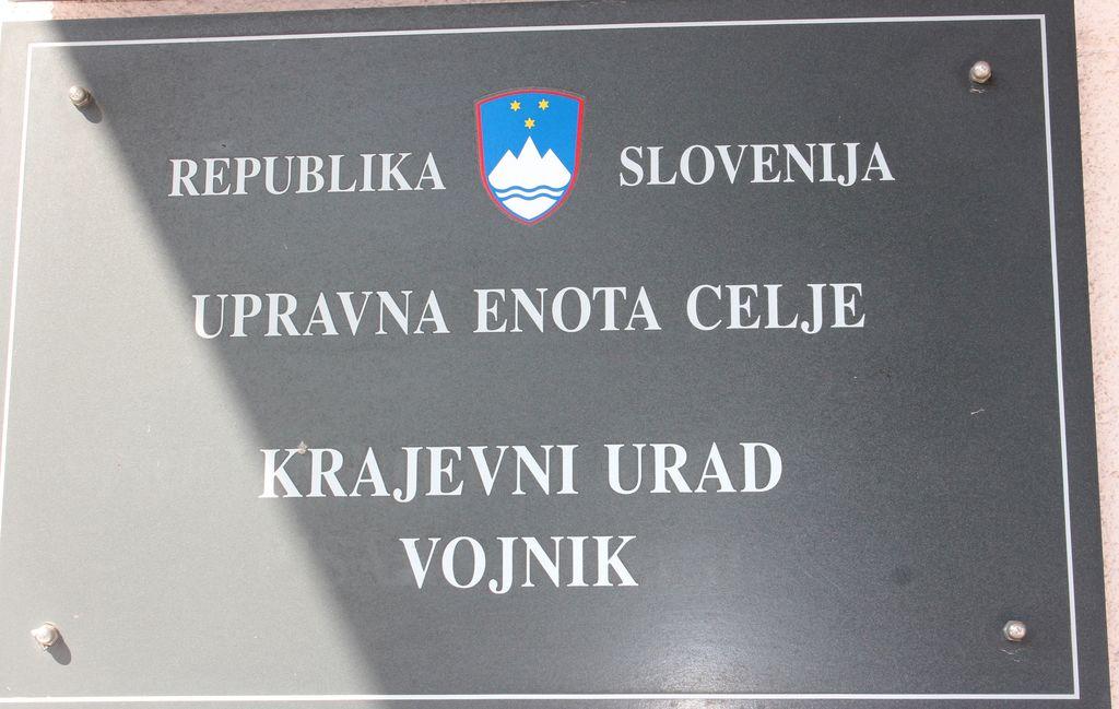 Obvestilo o zaprtju Krajevnega urada Vojnik 10., 11.  in 12. 9. 2019