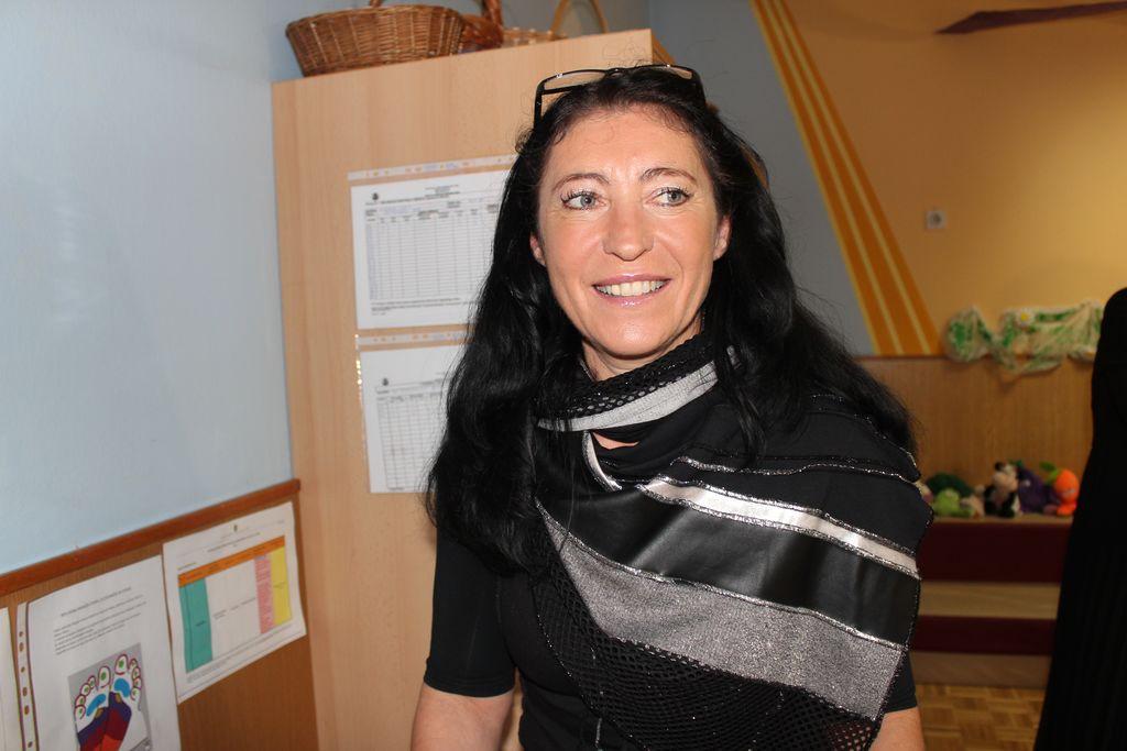 Vesna Poteko je zadolžena za izvajanje investicije na Frankolovem.
