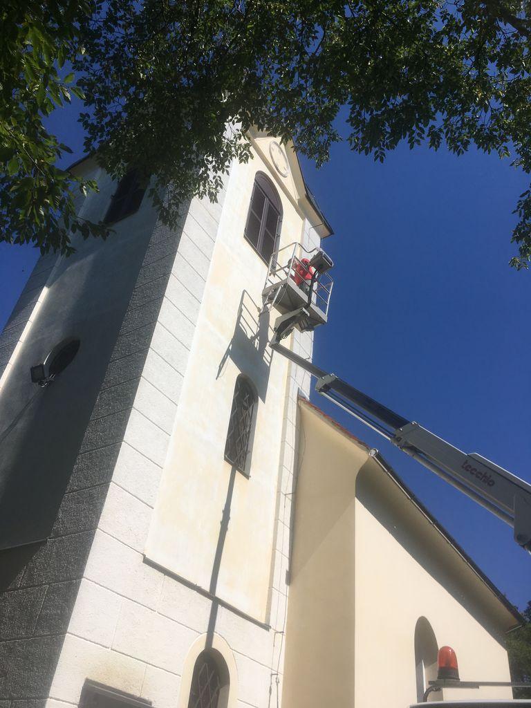 Prenovljena podružnična cerkev svetega Tomaža nad Vojnikom