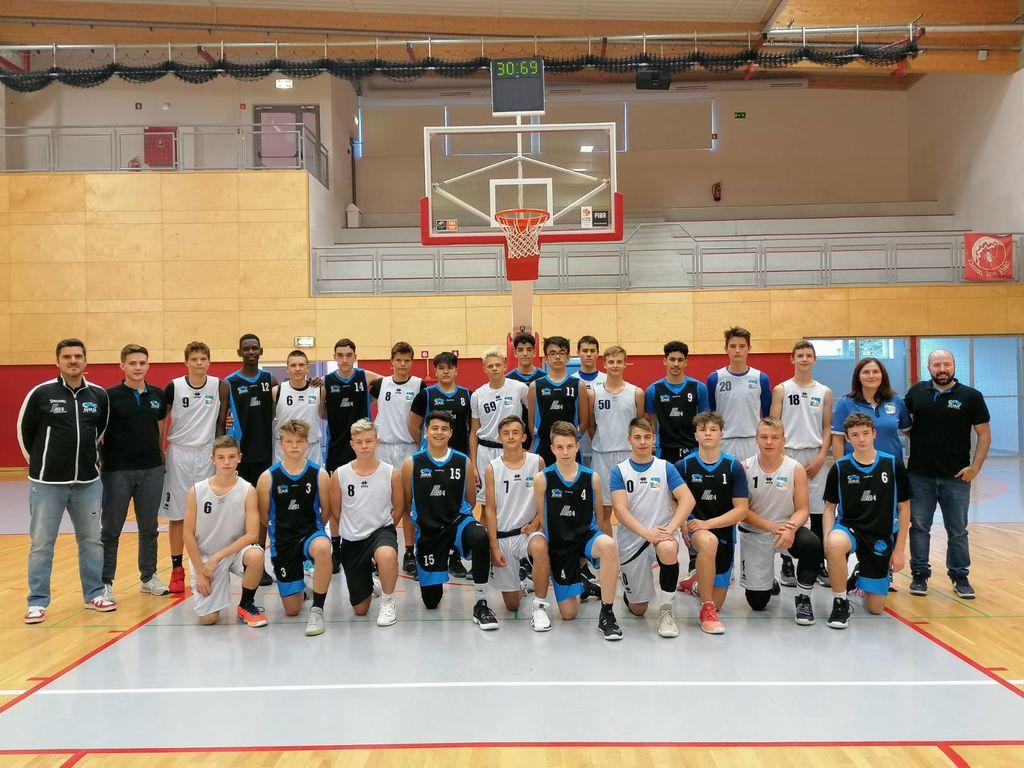 Gostovanje mladih košarkarjev iz Švice
