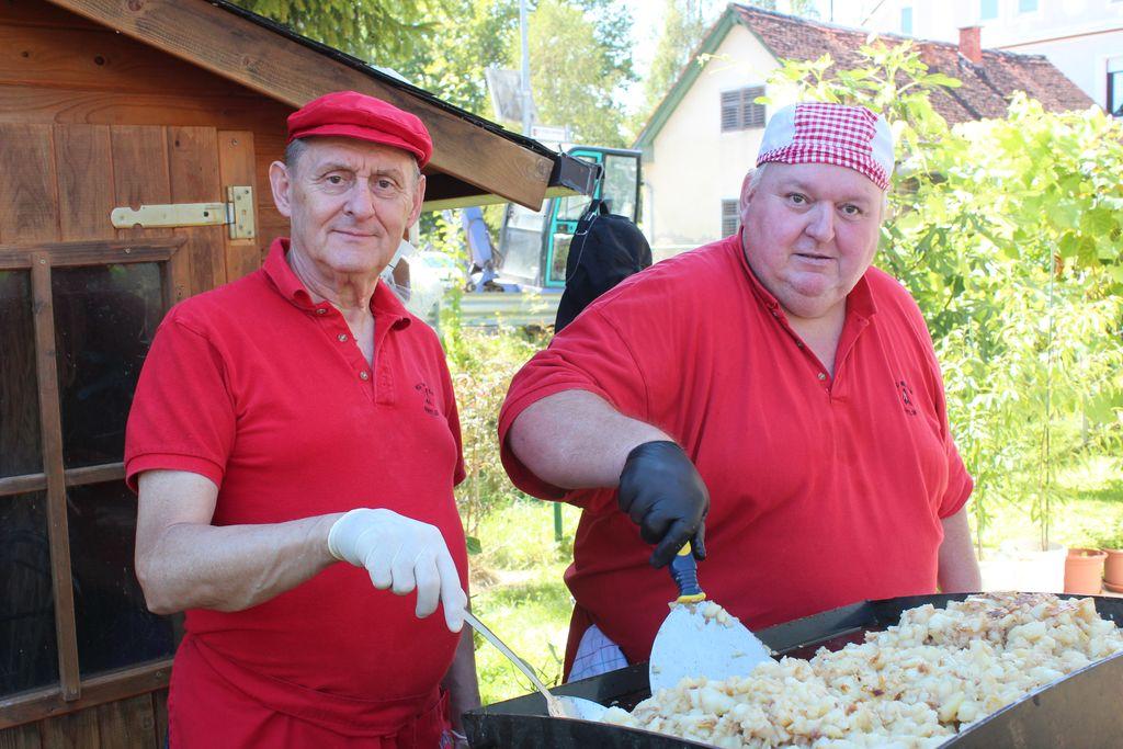 Karl Ksesnik in Zdenko Vrenko