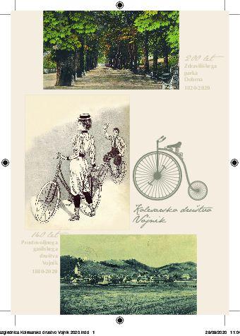 Jubilejna kolesarska razglednica