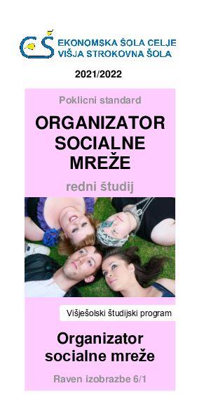 V Celju bomo edini v Sloveniji izvajali redni študijski program organizator socialne mreže