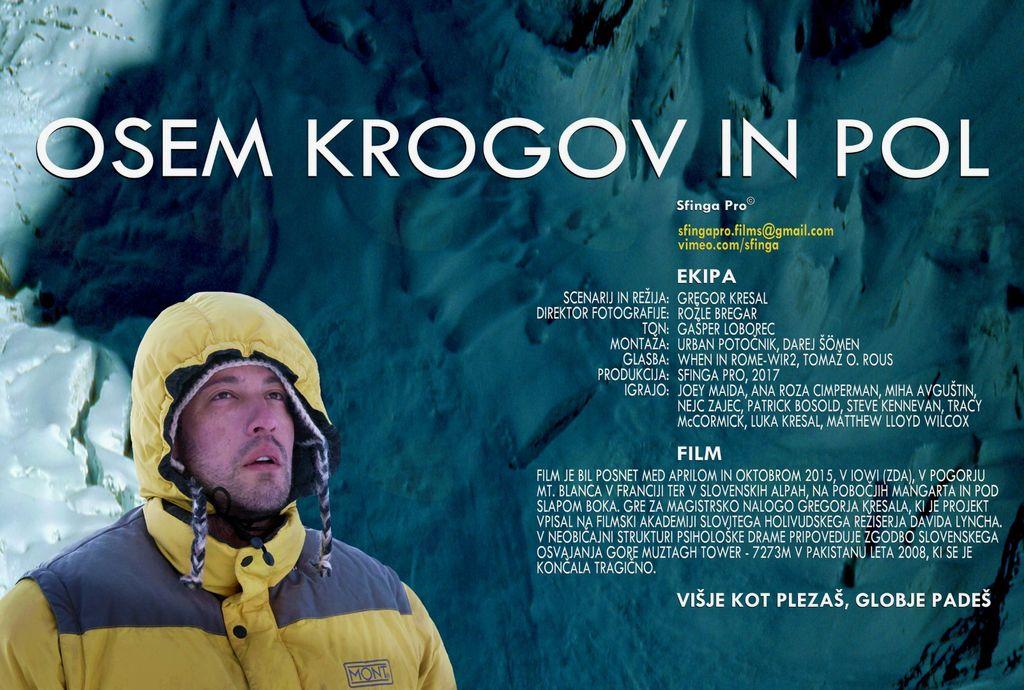 Film Osem krogov in pol, 14. 9. v Kulturnem centru Tržič