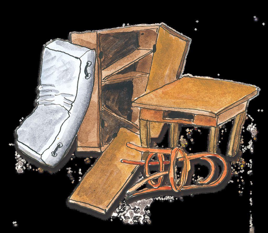 Zbiranje in odvoz kosovnih in nevarnih odpadkov iz gospodinjstev