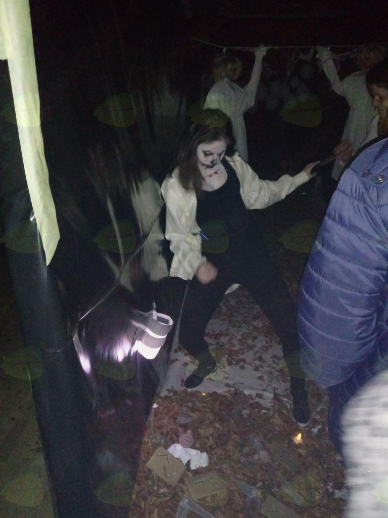 Hiša strahov v Kovorju presegla vsa pričakovanja