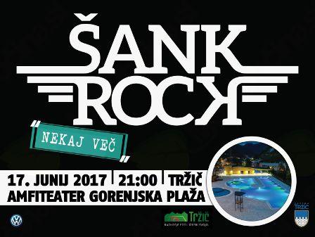 Šank Rock ob odprtju poletne sezone na Gorenjski plaži.