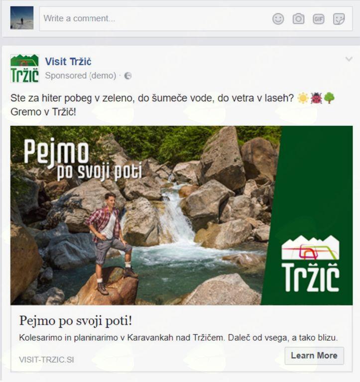 Poletna marketinška kampanija Pejmo po svoji poti