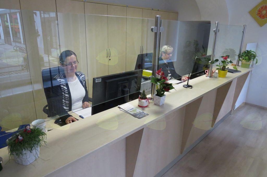 Sprejemna pisarna Občine Tržič z novo podobo