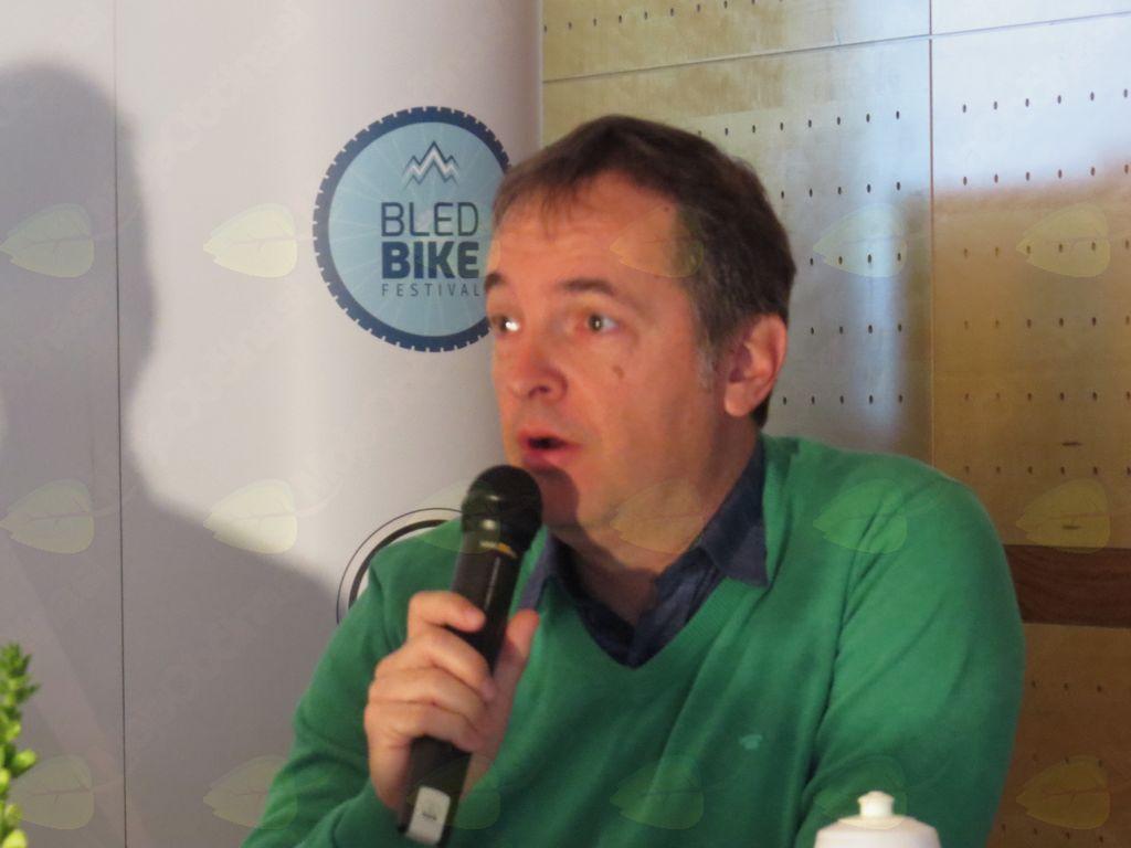 Andrej Remškar, tržiški kolesarski vodnik (foto Media butik)