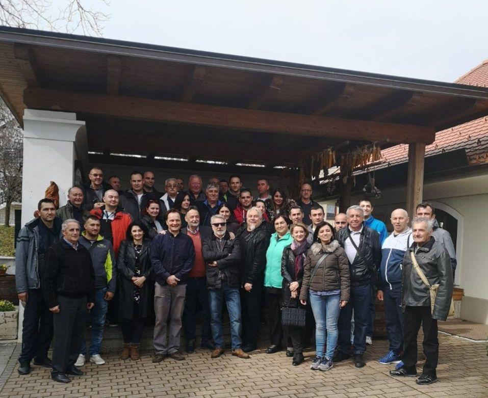 Obiskali so nas prijatelji iz srbskega pobratenega mesta Zaječar.  (Foto: Arhiv Občine Tržič)