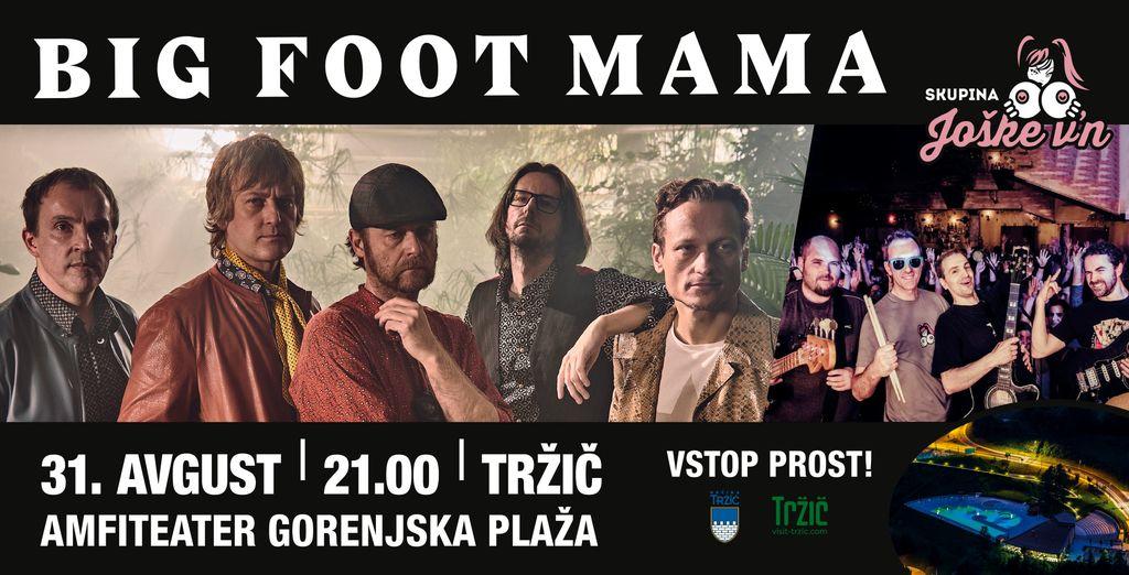Big Foot Mama za uvod v Šuštarsko nedeljo