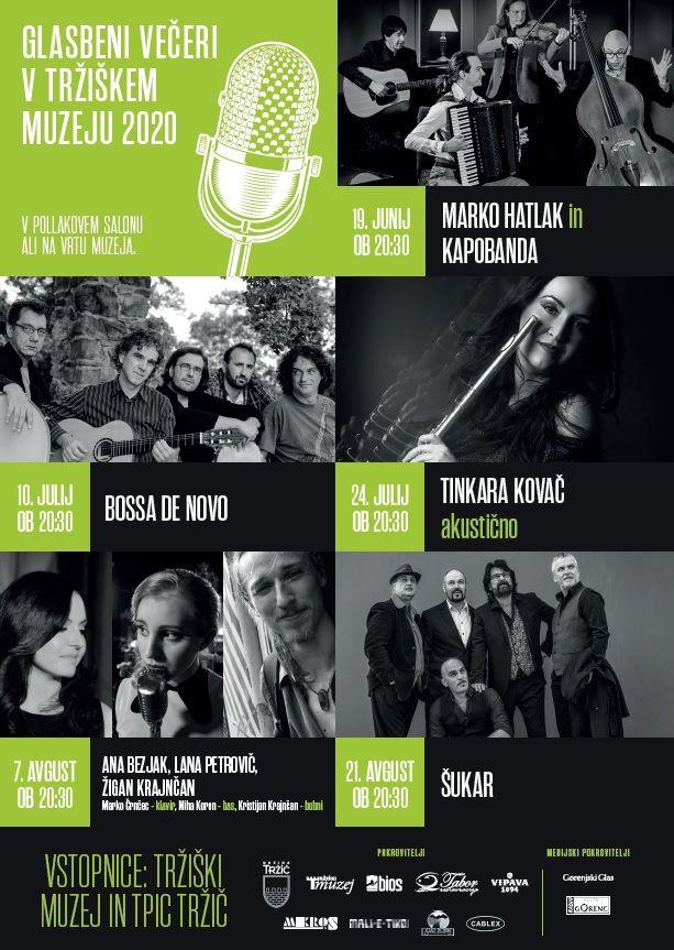Pričenja se šesta sezona Glasbenih večerov v Tržiškem muzeju